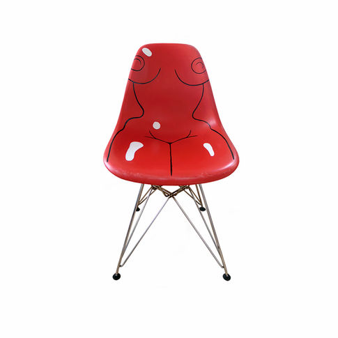 This Chair Is Taken (Red)