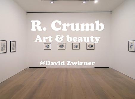 R. Crumb: Art & Beauty @David Zwirner