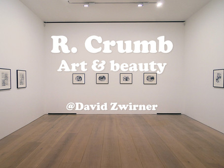 R. Crumb: Art & Beauty @David Zwirner