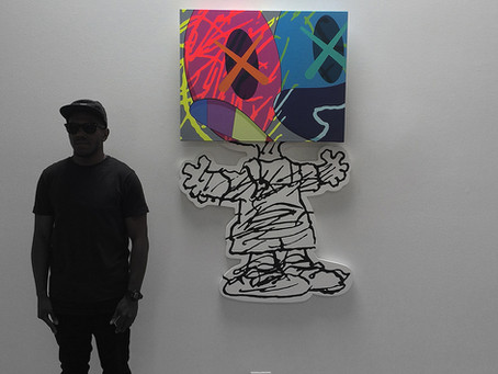 KAWS @ Honor Fraser