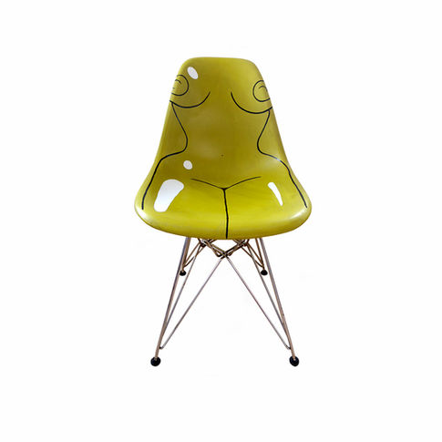 This Chair Is Taken (Yellow)