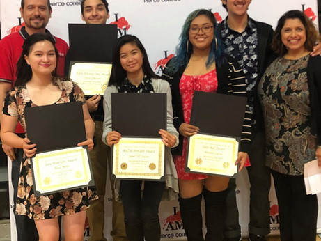Theater Students Get Recognized at Pierce!