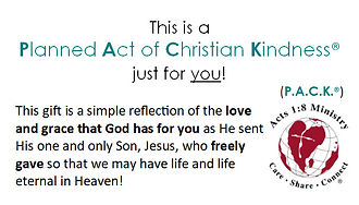 Christian Kindness Card 2