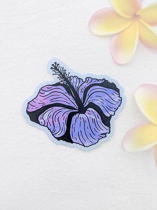 Sticker - Kaua'i HI.biscus