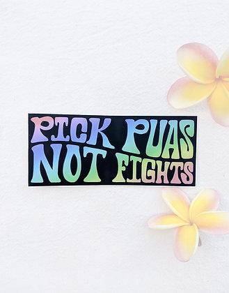 Sticker - Pick Pua's