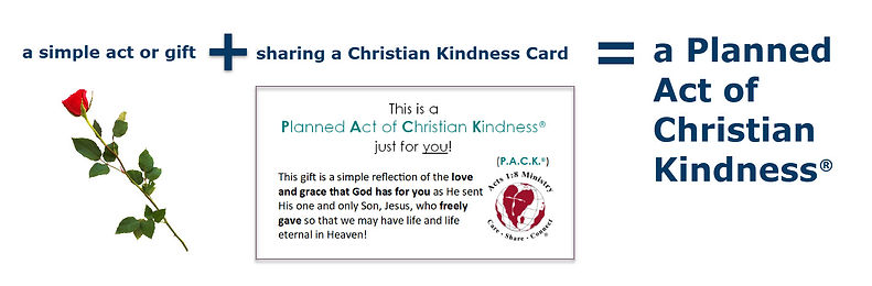 Planned Act of Christian Kindness Explanation