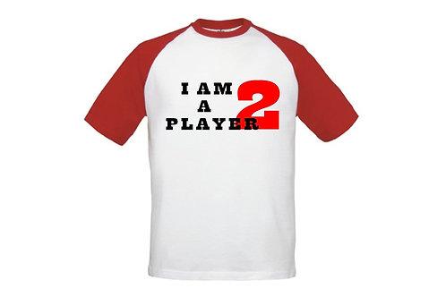 T-shirt kids I am player 2