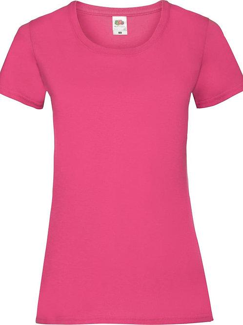 Werkkledij T-shirt Fruit of the Loom dames