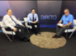 Dr Guilherme Padovani entrevista TV sobre câncer de próstata, rastreamento (PSA, toque retal), tratamento (cirurgia robótica) no novembro azul