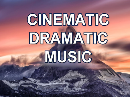 Cinematic dramatic music