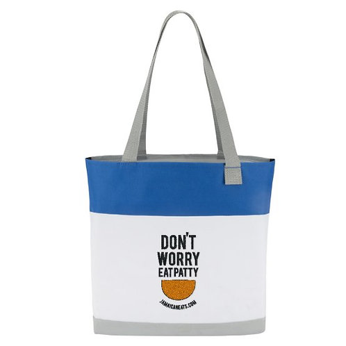 Don't Worry Eat  Patty Tote