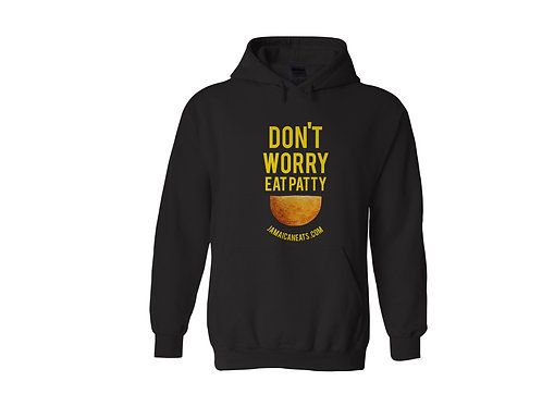 Unisex Don't Worry Eat Patty Hoodie