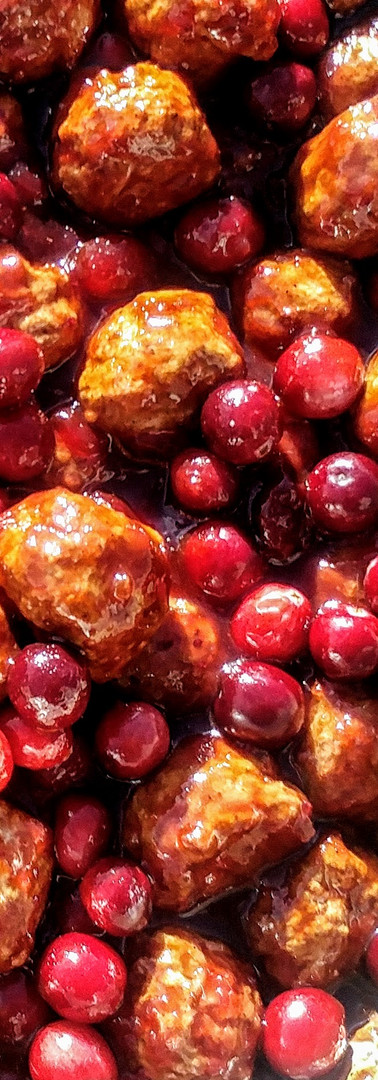 Barbeque Cranberry Meatballs