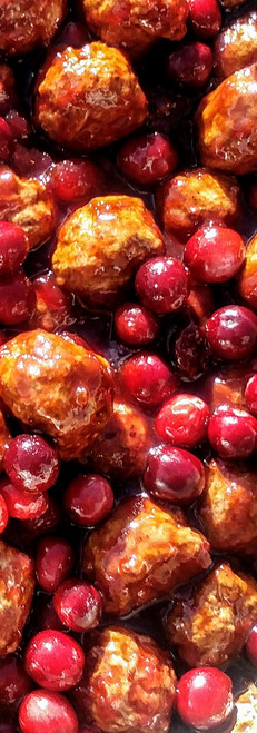 Barbeque Cranberry Meatballs