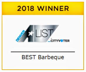 2018 Best of Denver A-List 1st Place!