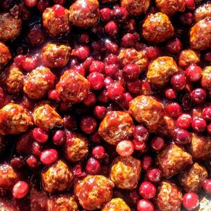 FCB Cranberry BBQ Meatballs