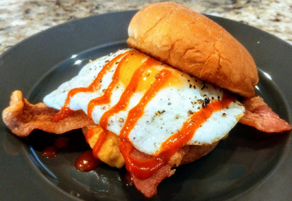 FCB Bacon Egg & Cheese Sam