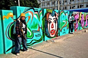 Street art dans la medina de Sfax