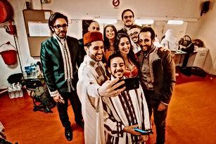 """Un après-midi avec le groupe de musique andaloussi """"Ambar"""""""