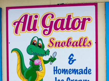 A Super (Hero) Day at Ali Gator's