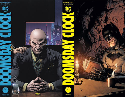 When Worlds Collide: A Doomsday Clock Double Review