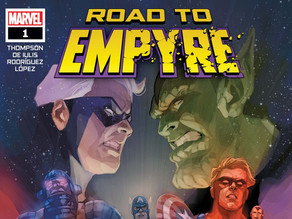 Kree / Skrull Homeschool:  A Road to Empyre Review