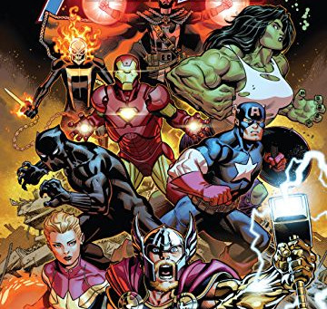 Avengers!!! Re-Assemble!!!