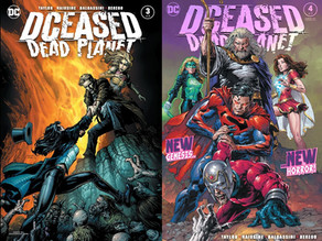 Hell of the Anti-Living - DCeased: Dead Planet #3 & #4