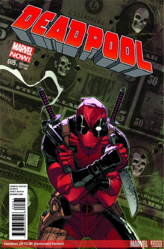 Original Deadpool Variant by Giuseppe Camuncoli
