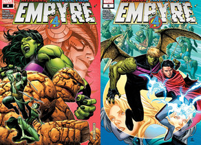 Double Agents and Space Weddings: Empyre #4 + #5 Double Review