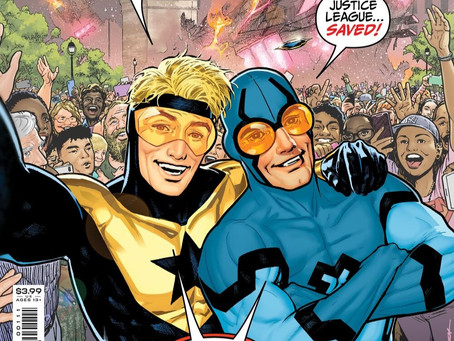 Booster and Beetle Ride Again!: Blue & Gold #1 Review