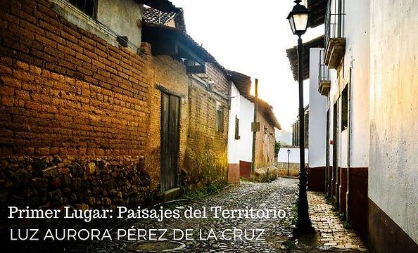 Luz Aurora Pérez ganadora concurso fotografia