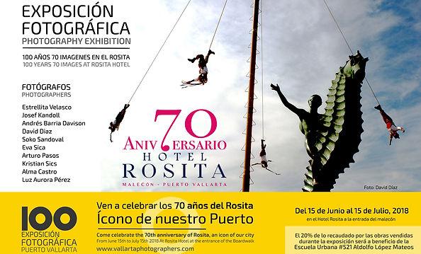 Luz Aurora Pérez fotografa exposición Puerto Vallarta