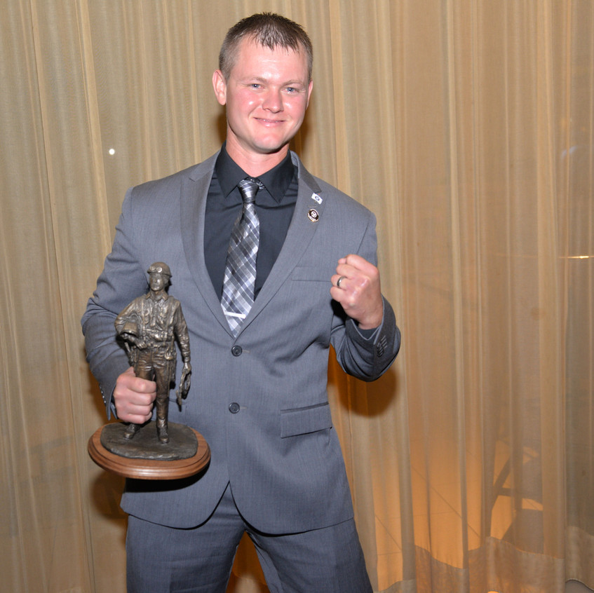 BNAP 2017 Awards Dinner - Branden Dormire Winner