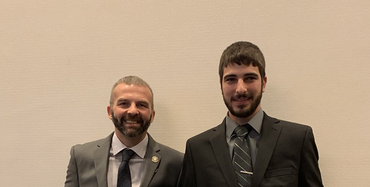Billy Shick of Local 374 & Justin Zueski of Local 169