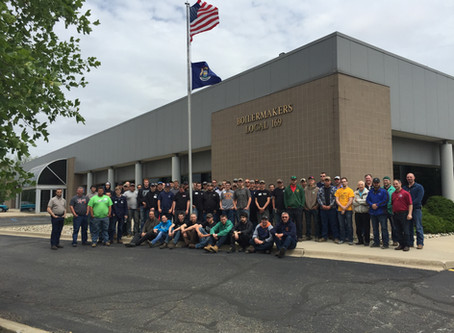 Local 169 Hosts the 15th Annual High School Welding Invitational