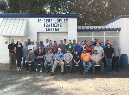 Instructor Training held for the Southeast Region