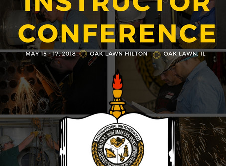 2018 National Instructor Conference - May 15-17, 2018, Oak Lawn, IL