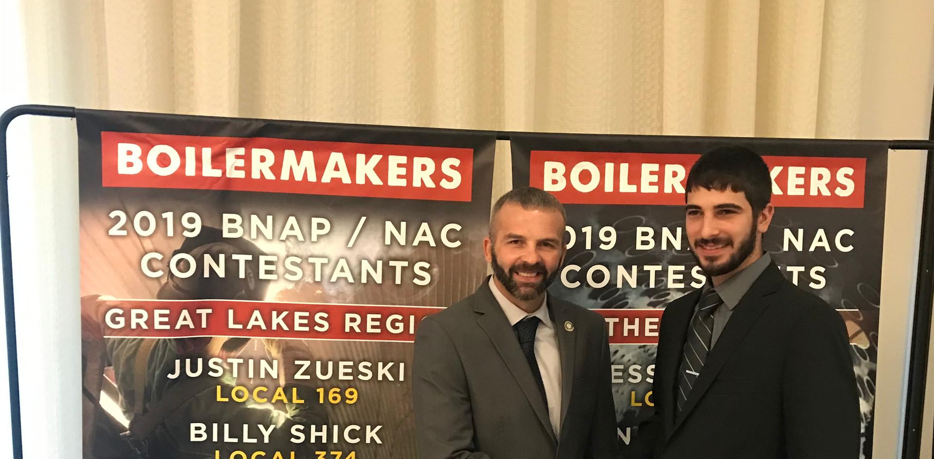 Great Lakes 2019 Team Award Winners