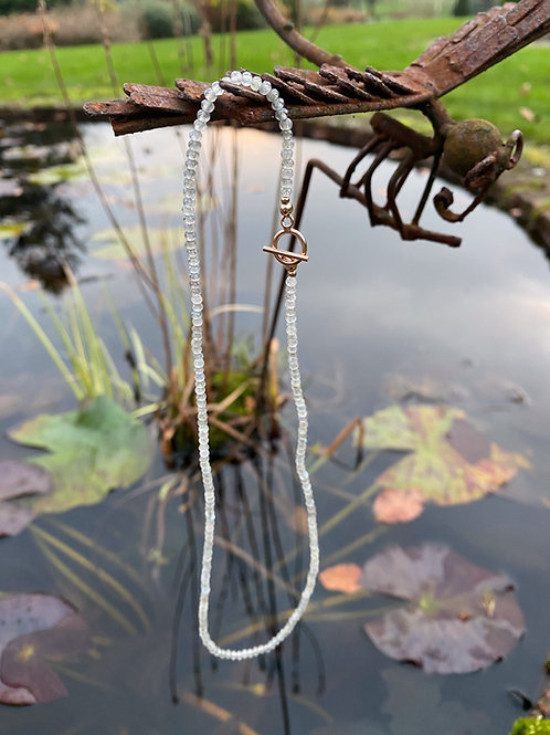Labradorite Skinny Candy Necklace