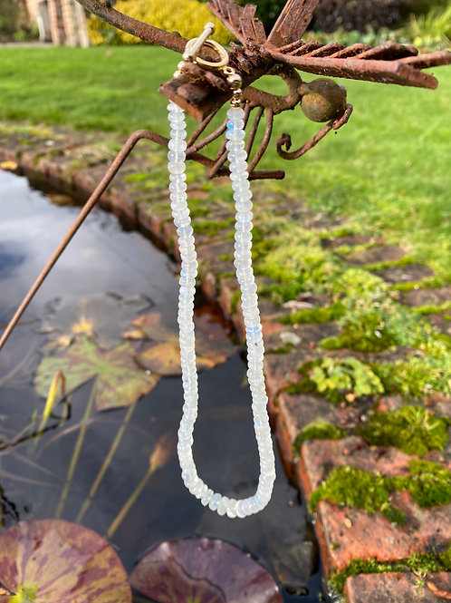 Magic Moonstone Candy Necklace