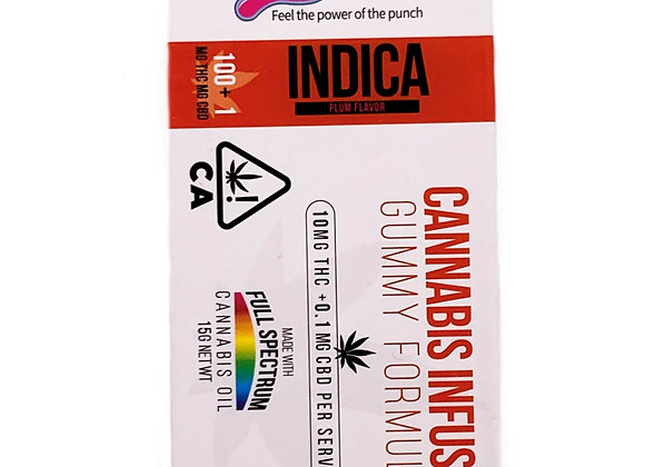 PLUM KP 100MG + CBD (INDICA)