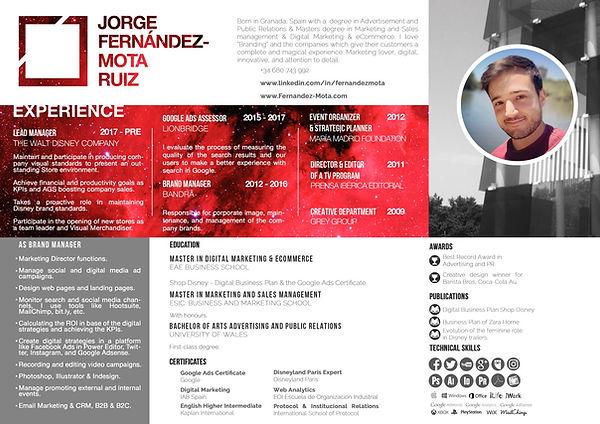 Jorge Fdez-Mota - Currículum