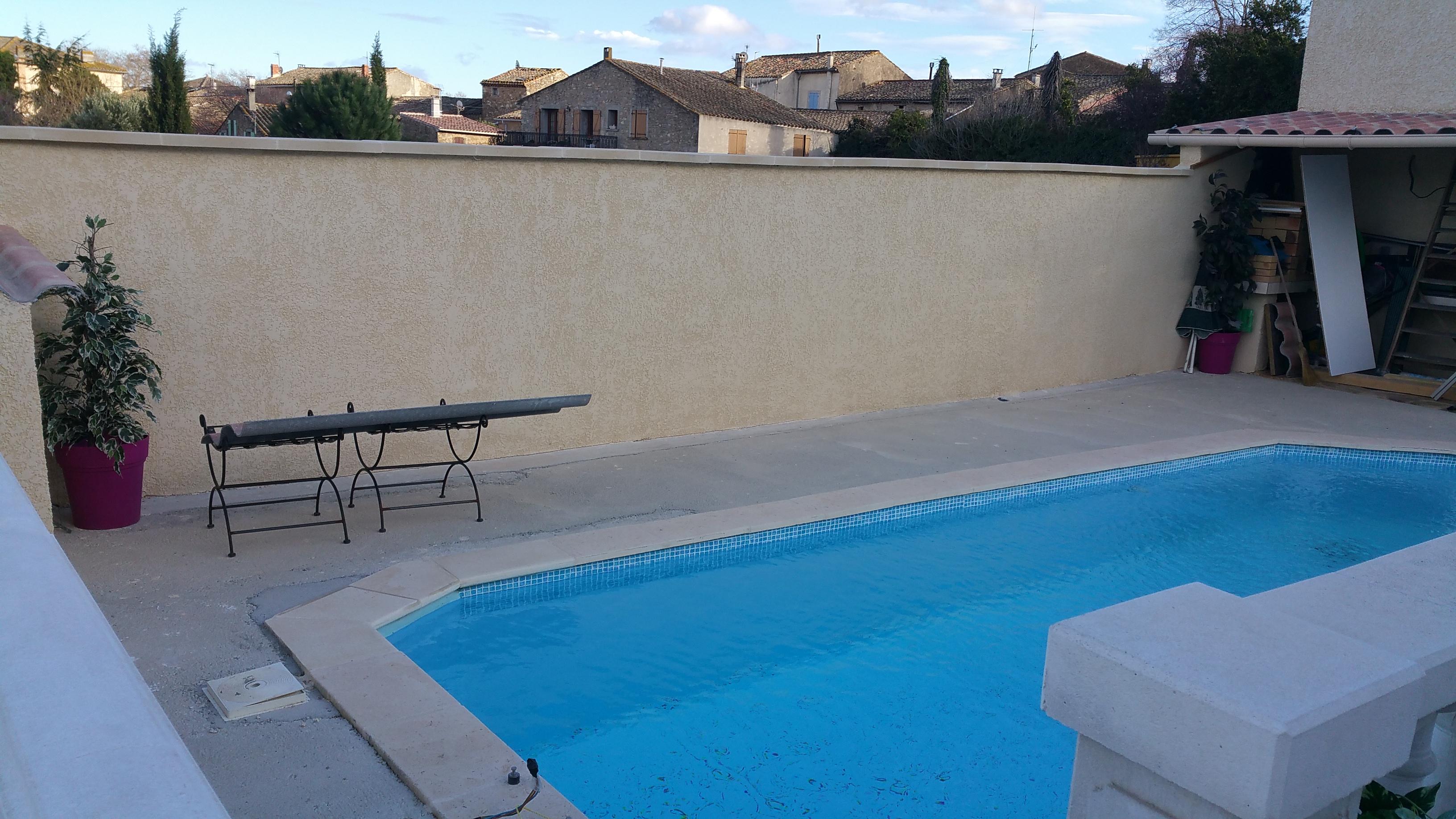 Etat des lieux : piscine