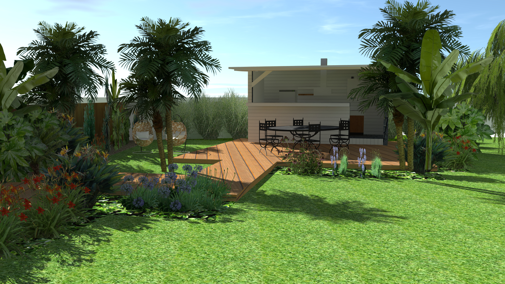 Jardin Agde modélisation