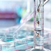 피펫 샘플 및 테스트 튜브