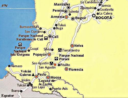 Sur Colombia Ernestours