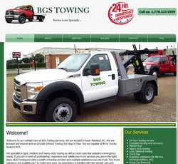 bgs towing