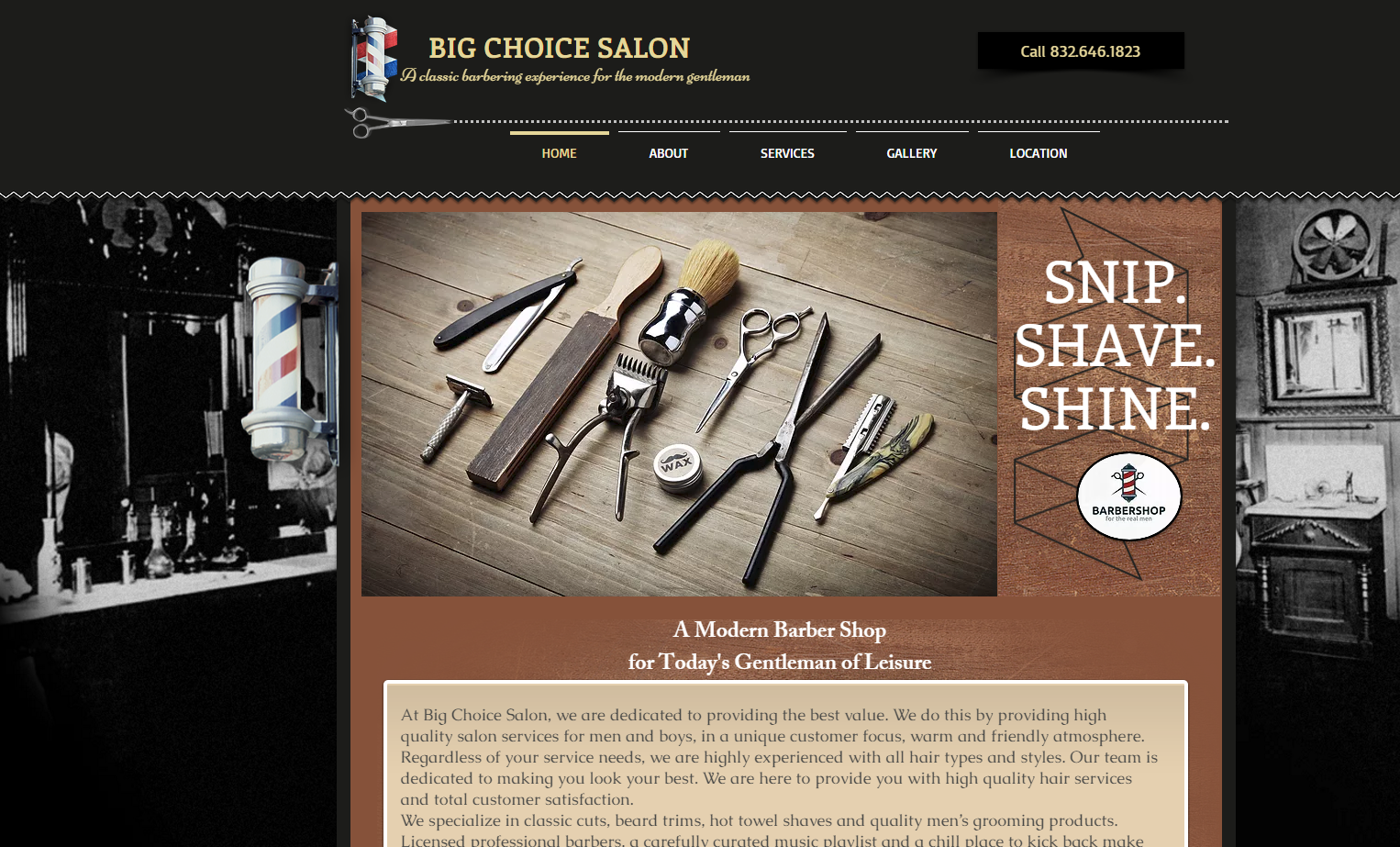 big choice barber