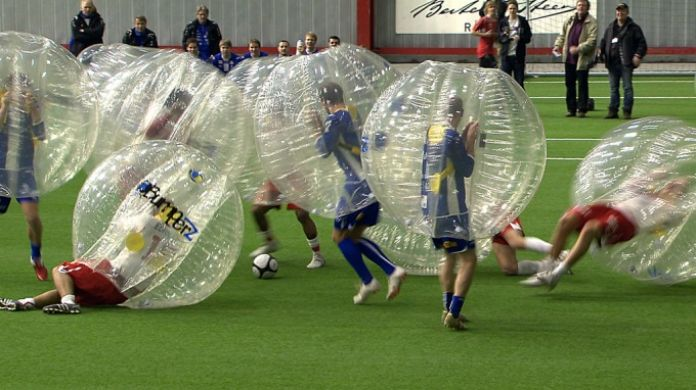futebolha bubble